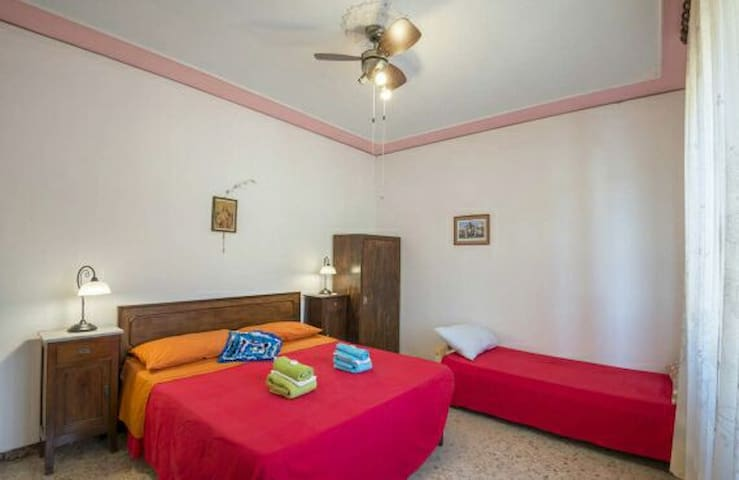Romantic room colline toscane . B&B i Geranii.