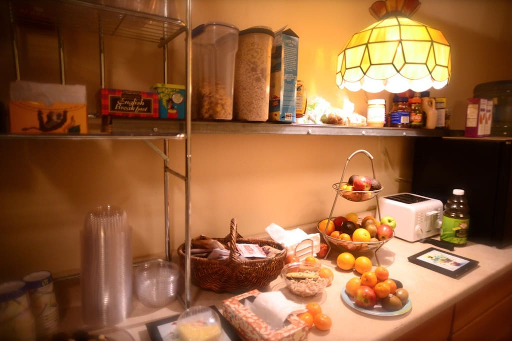 breakfast counter - available all day