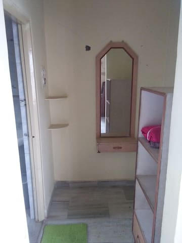 Spacious Double bedroom with attached washroom