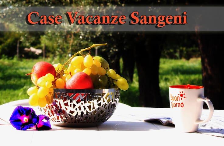 Case vacanze Sangeni n.4, primo piano con terrazza