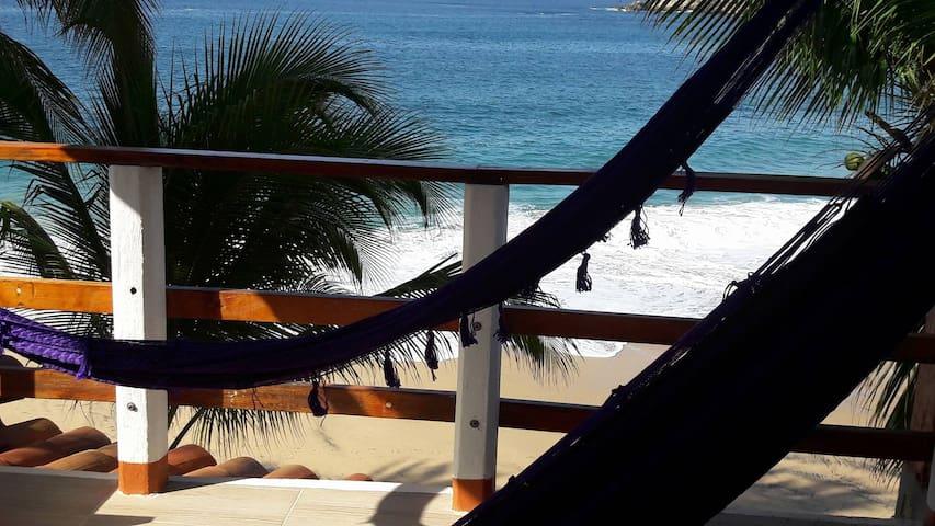 Hermosa vista al mar, Posada Ziga 14 - Mazunte - Villa