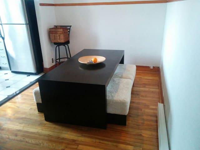 Logement chaleureux à Montréal - Montreal - Apartamento