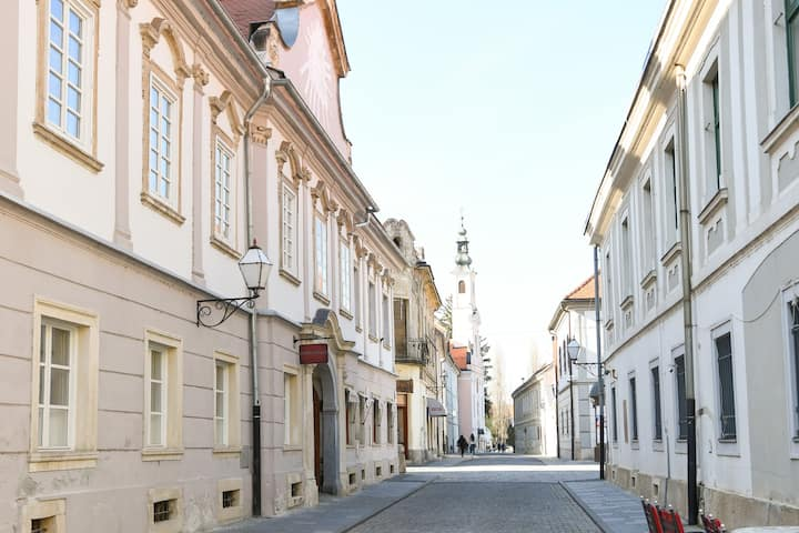 Beautiful 2bed apartment in the centre of Varazdin