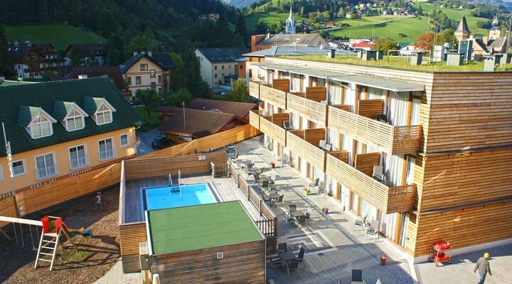 Hotel Planai. Die beste Lage in Schladming. 2 Erw.