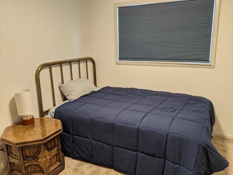 Scandinavian inspired room in Colorado Foothills