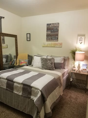 Comfy, Quiet, Ideal, private room.