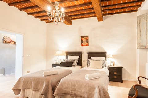 Gorgeous townhouse in medieval town for 6 people