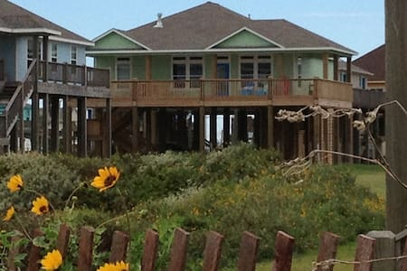 Beautiful Crystal Beach TX home, awesome Gulf view