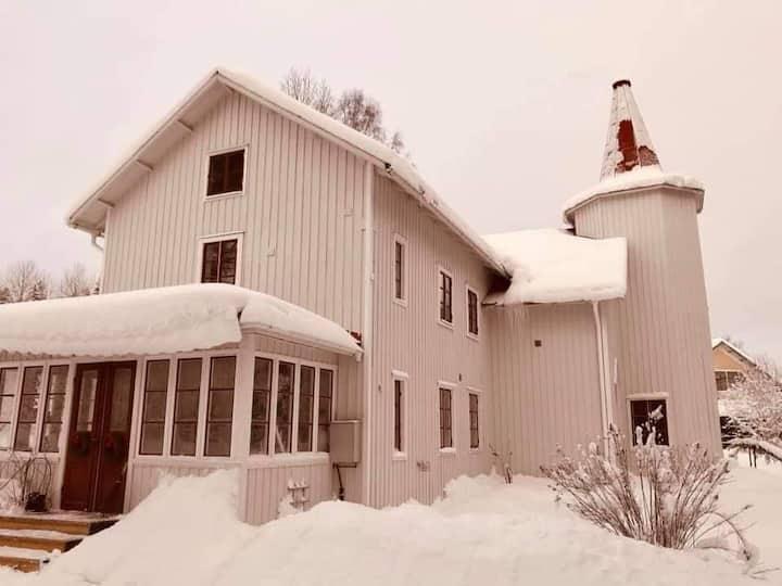 Gamla bönhuset i Lia
