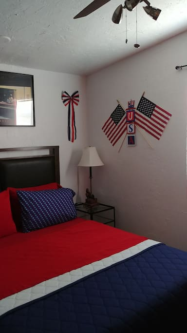 Fourth of July room