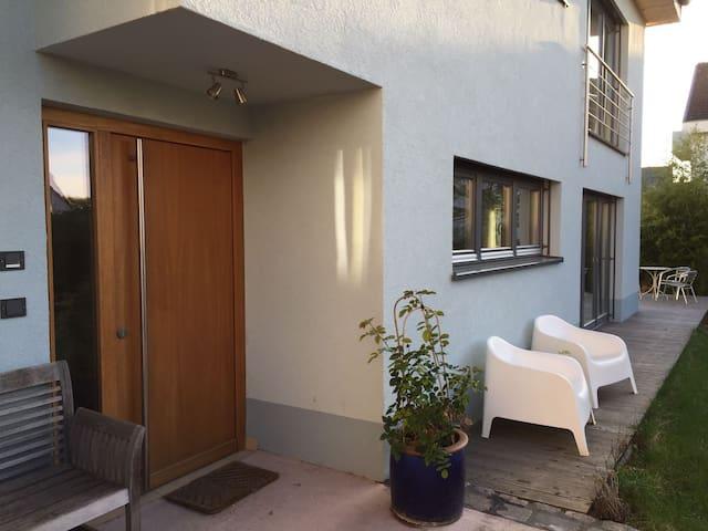 Wohnen im Garten - Aschaffenburg - Huis