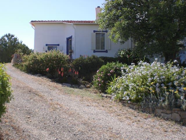 Monte Ti-Tu, Haus mit fantastischem Meerblick - Quelfes - Casa