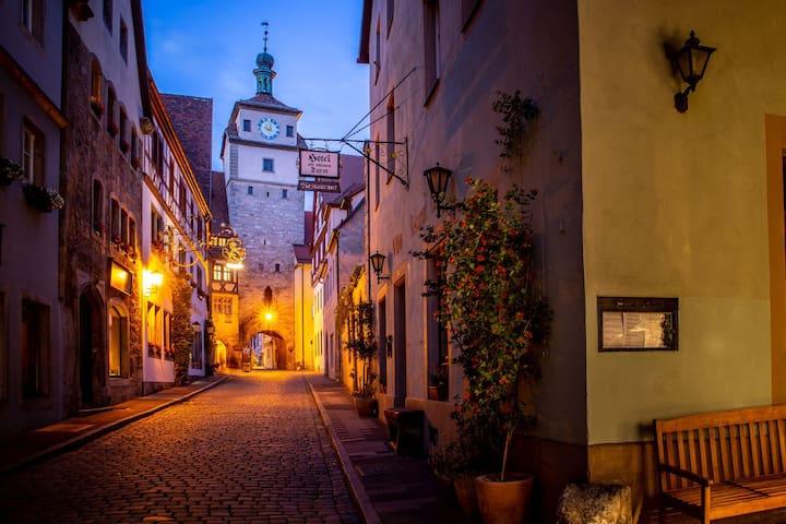 Schöne Zimmer im Herzen von Rothenburg