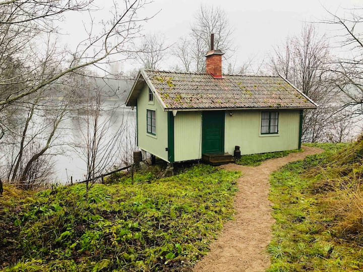 Cottage on the river