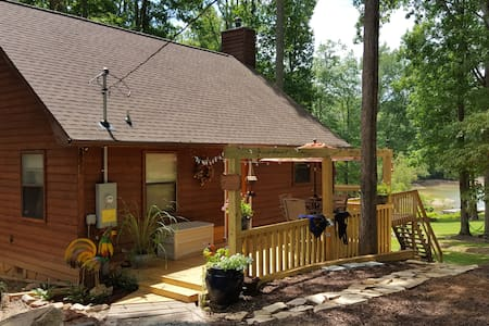 BlueRidge Lake House in Chattahoochee Nat'l Forest - Morganton