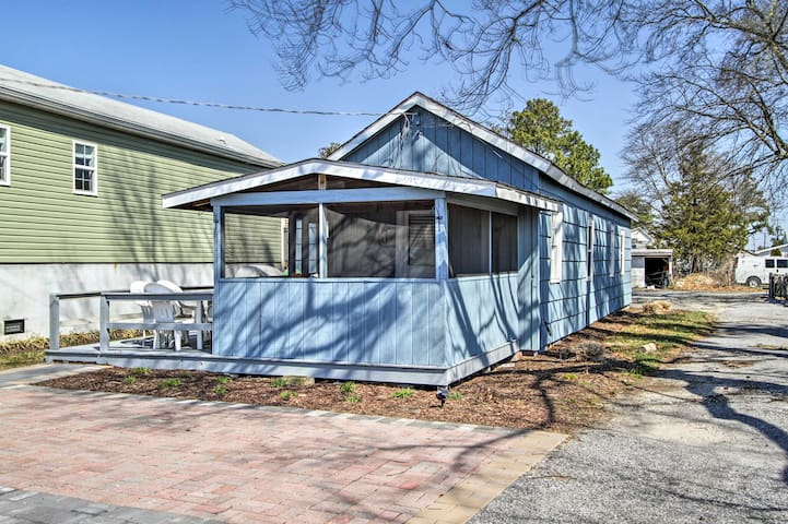 NEW! Millsboro Cottage w/Indian River Bay Views!