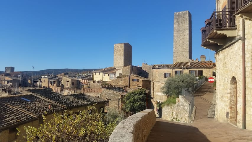 Hs4U Tower Apartment in San Gimignano - San Gimignano - Apartment