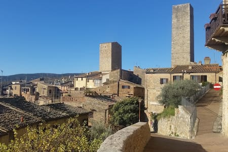 Hs4U Tower Apartment in San Gimignano - 圣吉米尼亚诺 - 公寓