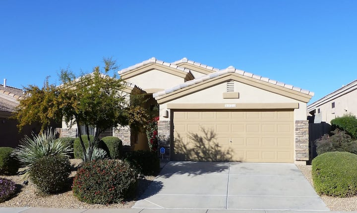 Patio House in Gated Community