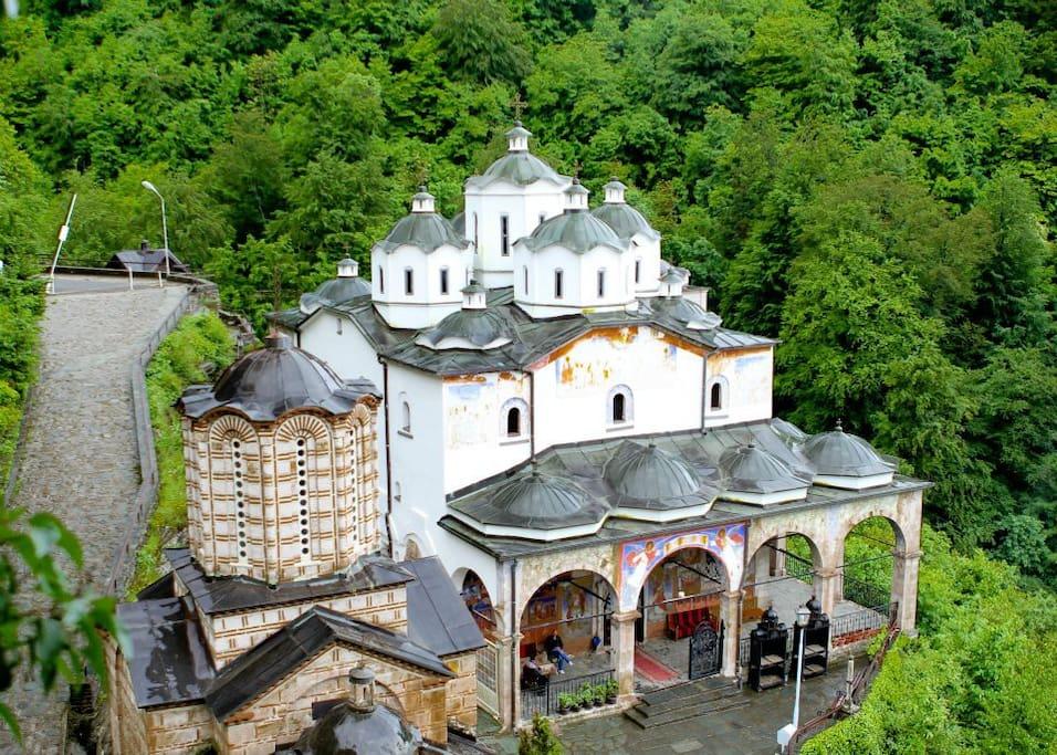 Nearby monastery St. Joakim Osogovski
