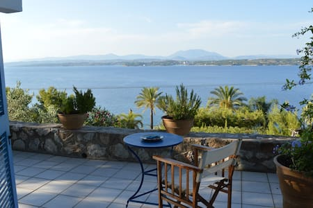 Friendly home with seaside view! - Ligoneri