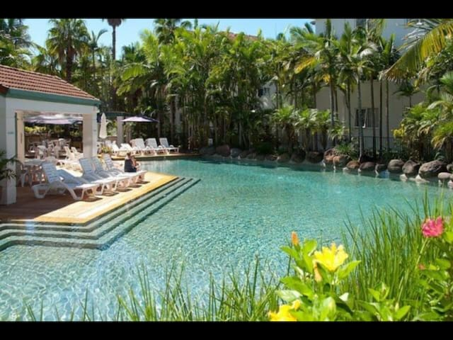 Huge room in resort with free wifi - Miami - Apartmen