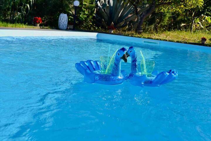 Villa Annalisa con vista mare e piscina