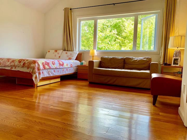 Beautiful Large room with private bathroom
