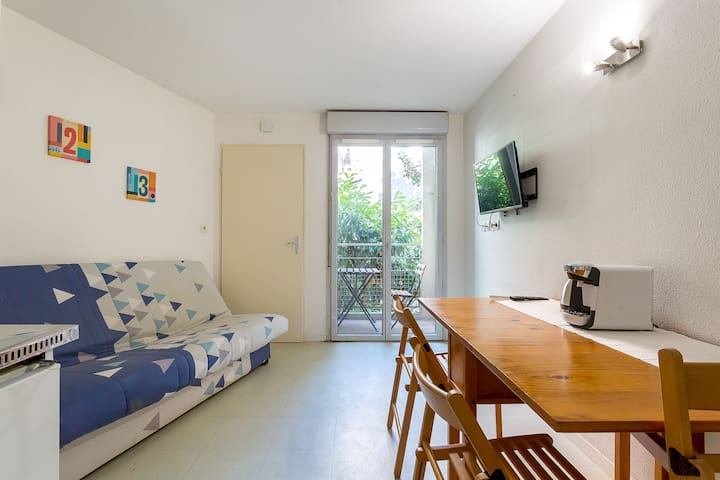 Nice fully equipped studio ♦ VILLEURBANNE ♦