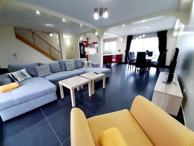 Sublime villa avec piscine - 10 min de Limoges