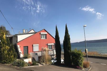 Ferienwohnung in Sipplingen direkt am Bodensee DG - Sipplingen - 아파트