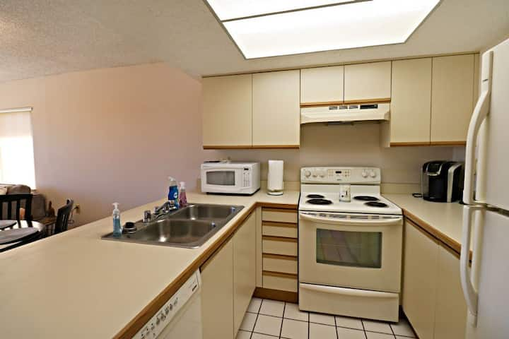 Spacious 1/1 Prime Condo on Third Floor in Gated Community, Two Swimming Pools, Grill Area, Fitness Room, Private Boardwalk!  Ocean Village Club C32