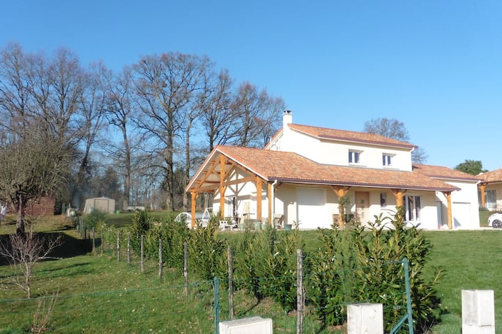 Modern house in Rochechouart