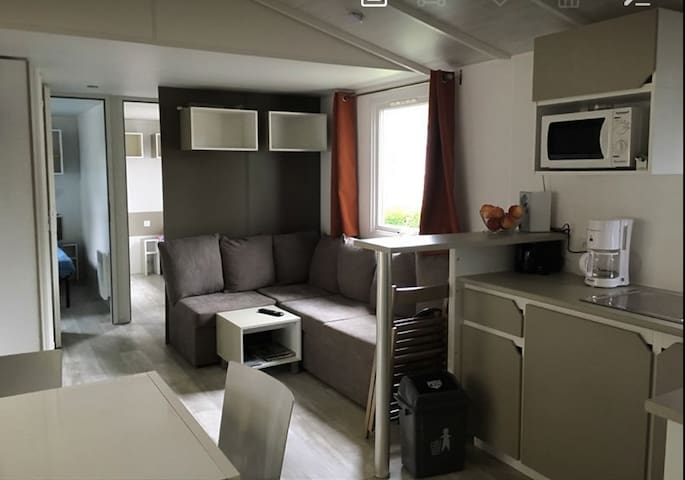 Mobilhome neuf, 4 chambres, 10 couchages