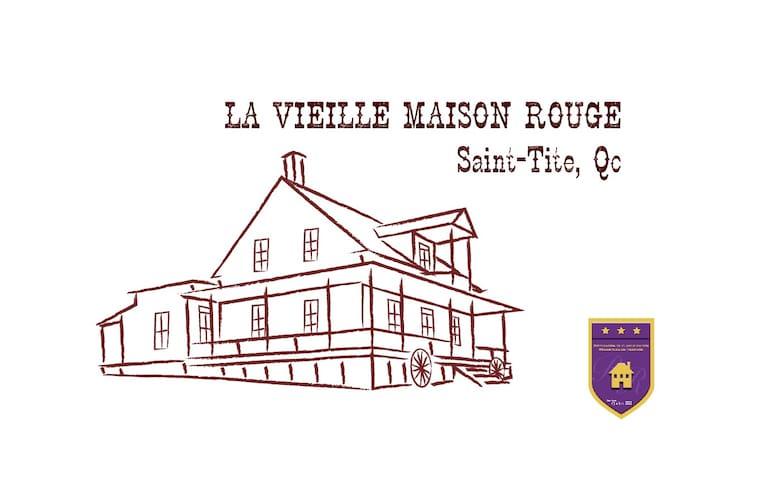 La vieille Maison Rouge - Saint-Tite - Haus