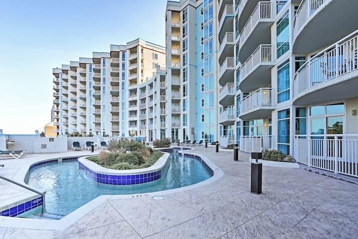 Myrtle Beach Condo w/Balcony, Pool & Beach Access!