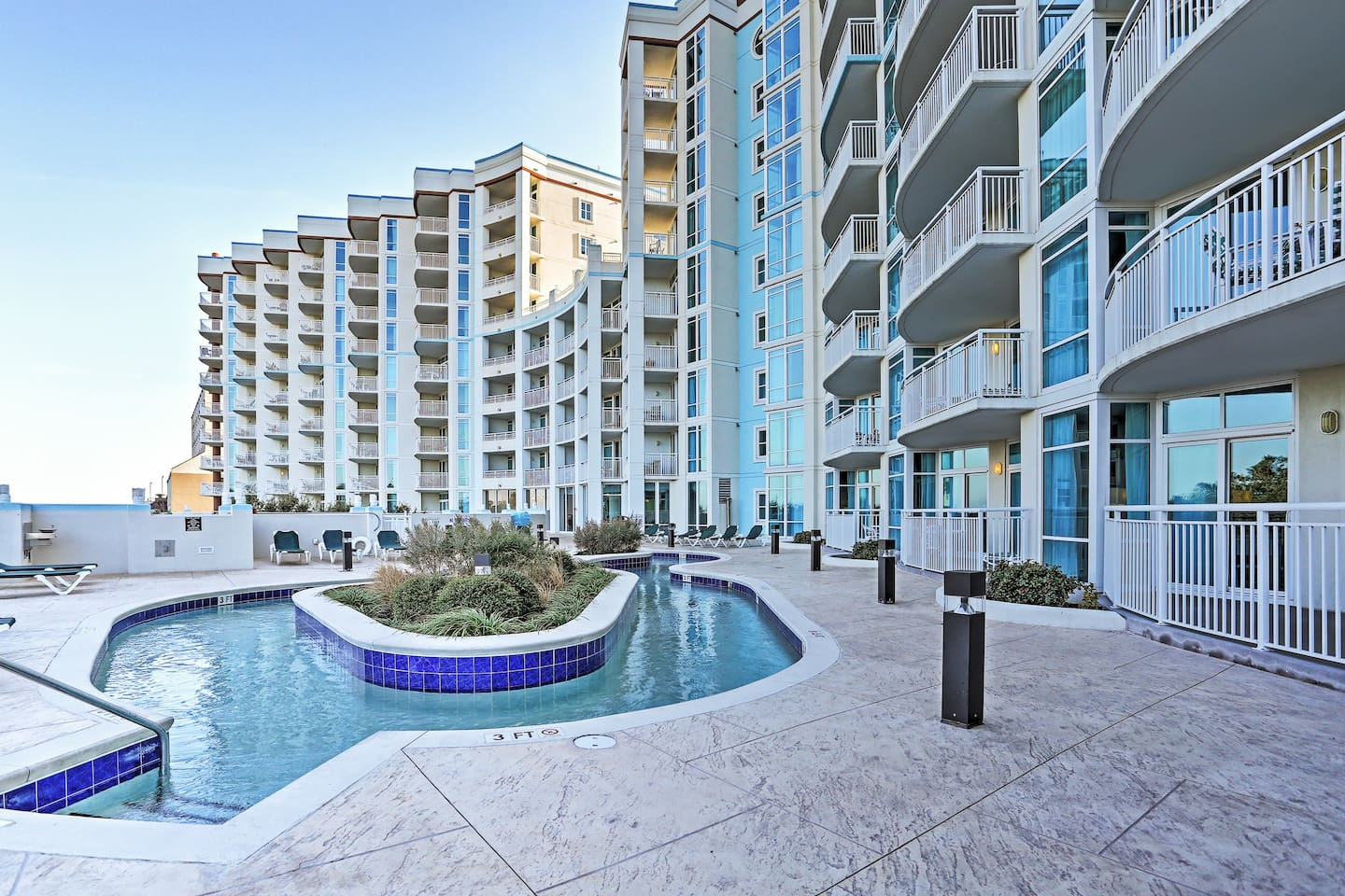 You're only steps from the beach at this Myrtle Beach vacation rental condo!