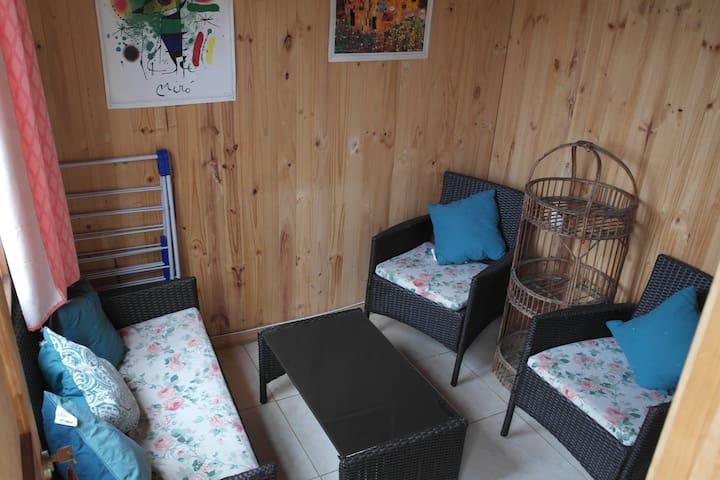 Cabaña para tres en Los Tamarugos