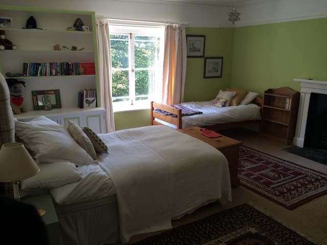Triple room with a double and single bed