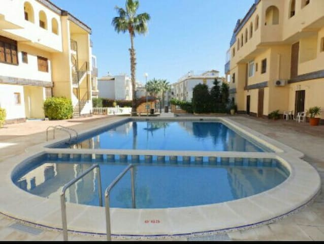 1 bed apartment at Punta Prima beach..