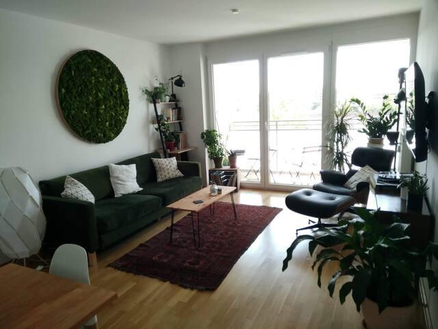 Sonnige 2-Zimmer-Wohung am Hirschgarten