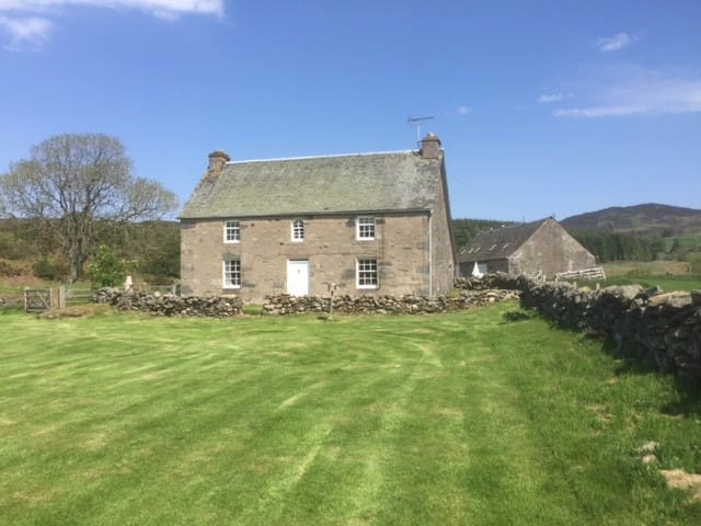 Macmaridge, cottage above Dunkeld