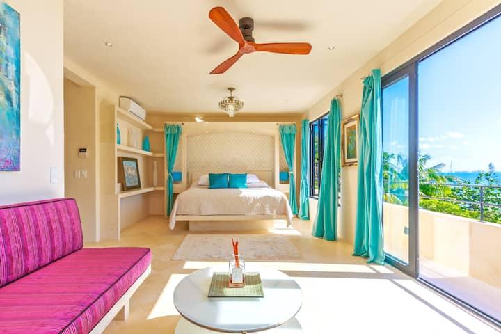 Premier Ocean view King Suite in upscale B & B