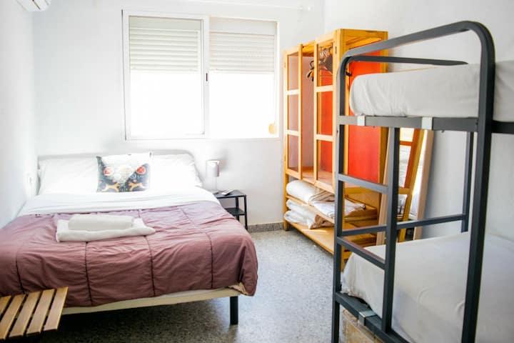 LAST MINUTE Bedroom CENTER Cervantes 1kmBeach