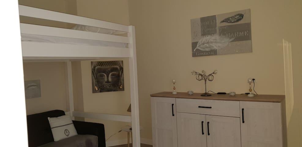 Appartement chaleureux, tout équipé