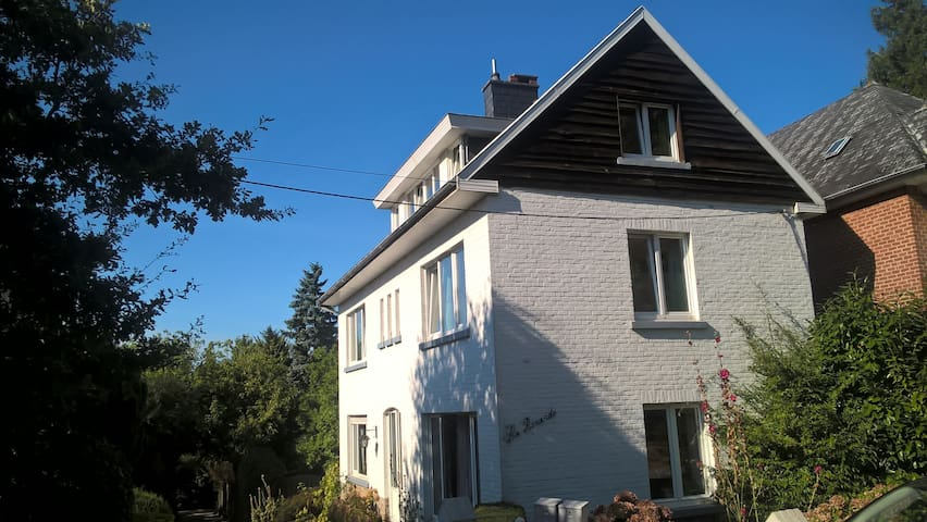 Chambre av sdb privée et cuisine, citadelle, Namur - Namur - House