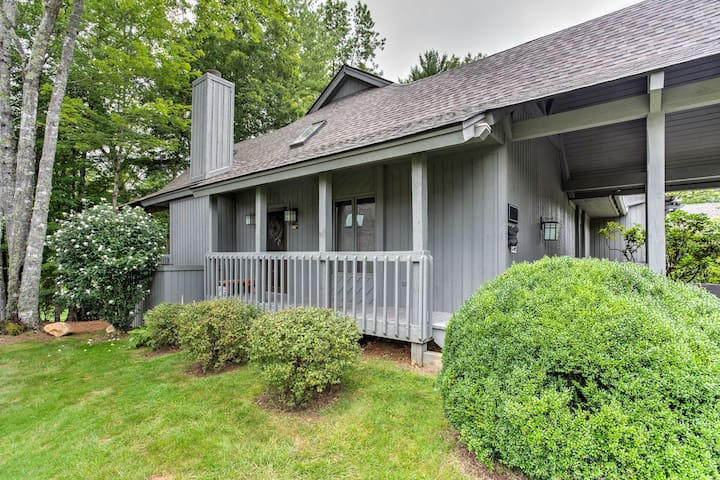 NEW! Rustic 3BR Sapphire Townhome on Golf Course!