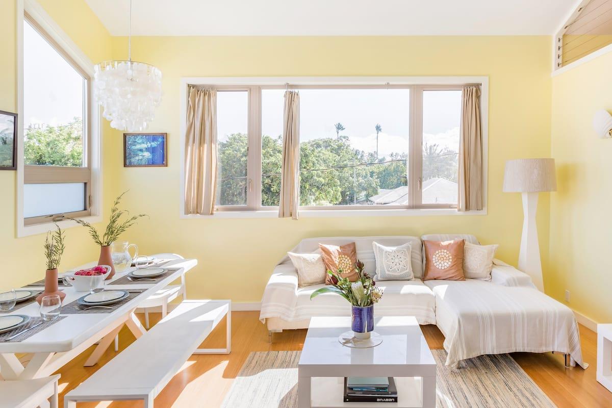 Paia Beach Luxury Home 10 Steps From White-Sand Beach