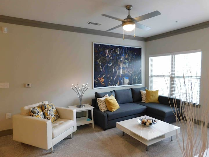 Stylish 2BR APT, Non-Smoking in Raleigh by Candace