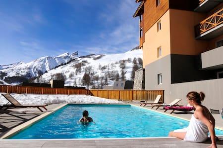 Appartement ski- 4 personnes - la Foux d Allos - Allos - Apartment